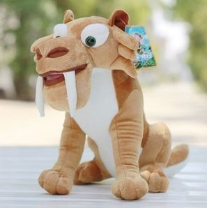 Ice age  Diego  plush toys