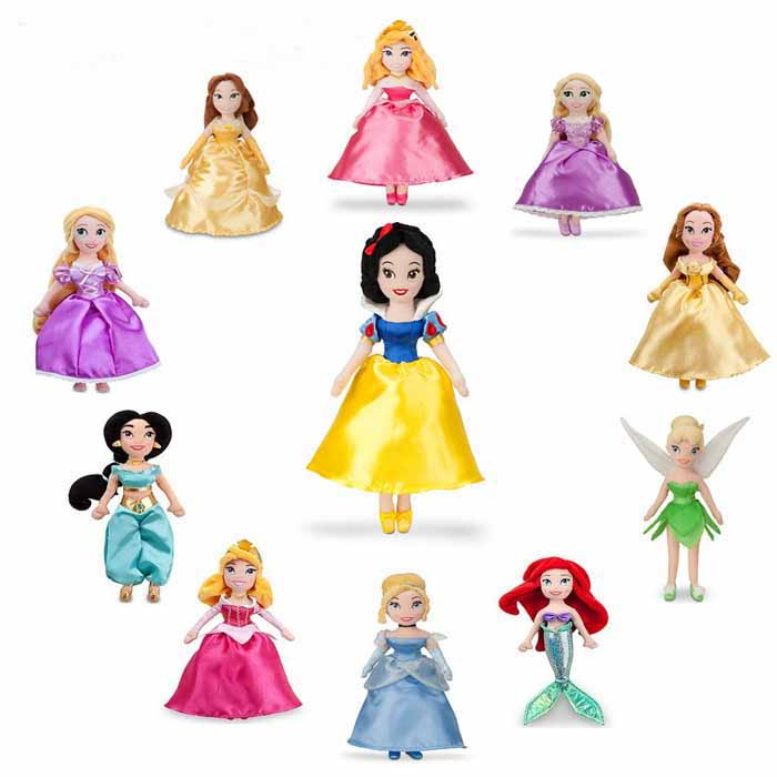New Disney Princess collection Plush toys