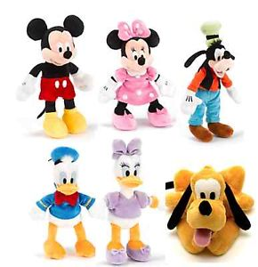 Disney Family collection plush toys