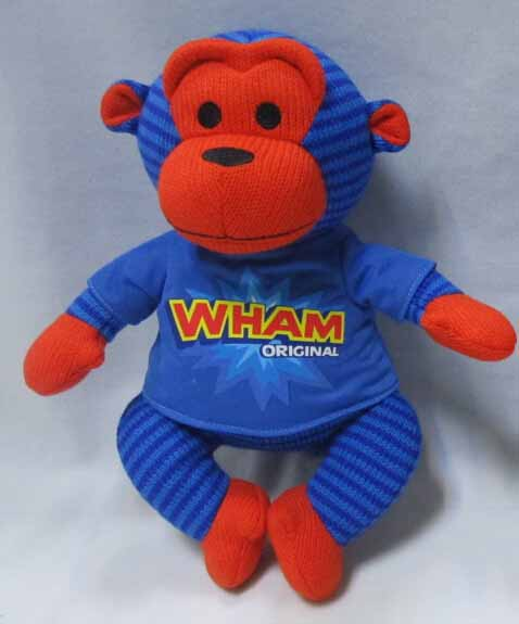 Knitted - Monkey in Blue Color
