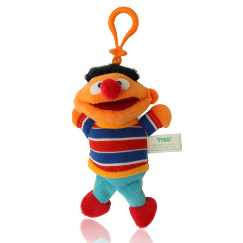 The Sesame Street Keycain set Plush toys