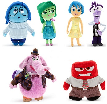Cute Disney Inside Out Soft Dolls Cartoon Plush Toys for Babies